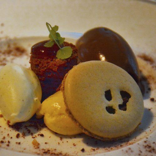 chocolade-banaan-noten-peer-vanille en oude rhum