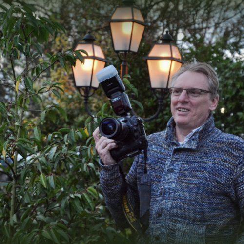 Hans Put, fotograaf voor de groepsfoto.