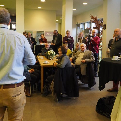 ontvangst in het toeristisch infokantoor Turnhout