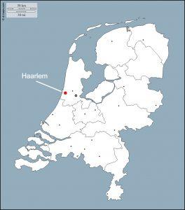 situering Haarlem
