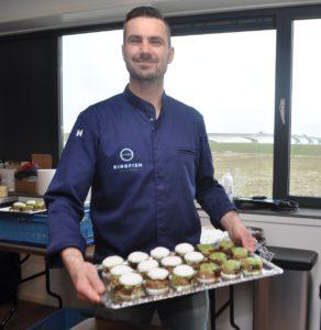Chefkok Mart Scherp , restaurant Scherp in Middelburg