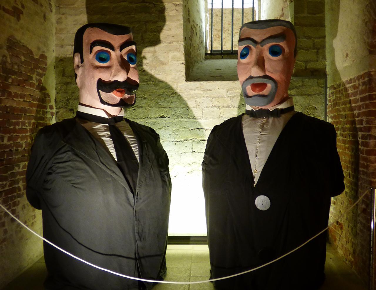 Georges en Henri, de reuzen van Sint-Lambrechts-Woluwe