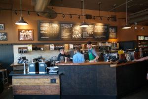 De allereerste vestiging van koffiezaak Starbucks