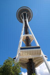 Landmark van Seattle: de Space Needle