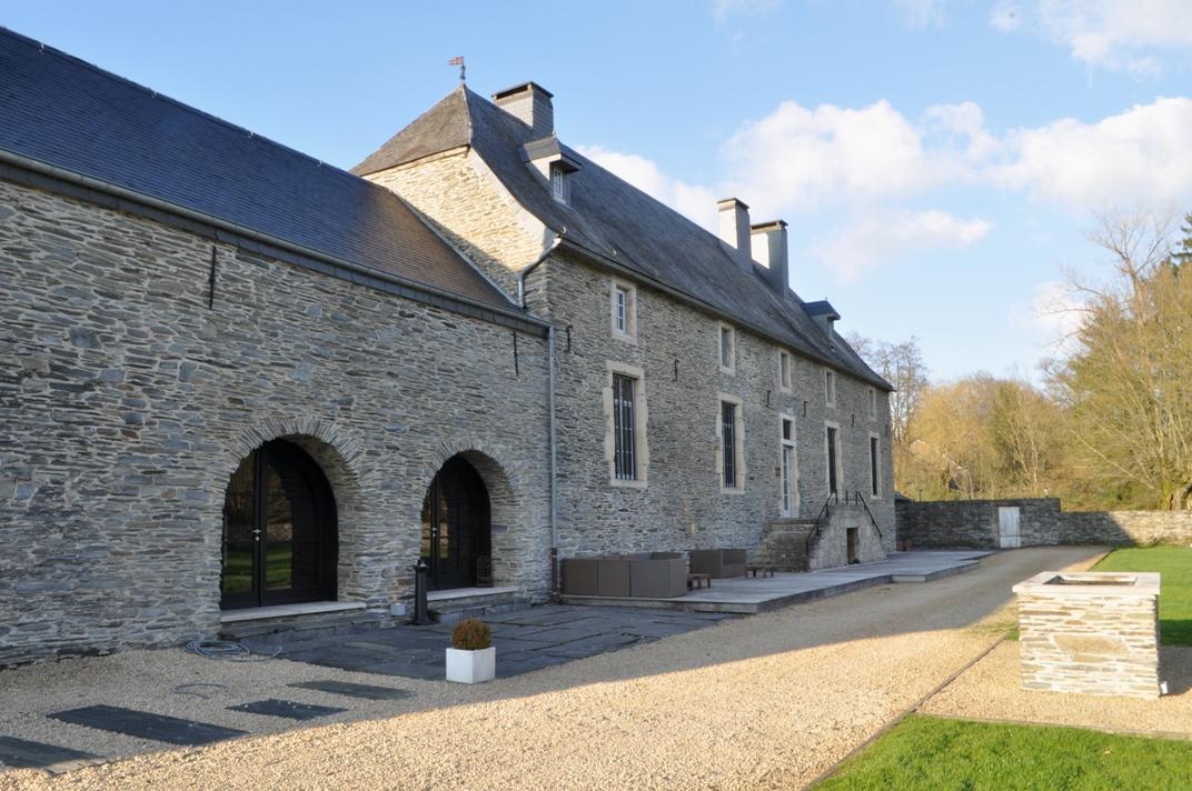 Chateau de Grandvoir buitenzicht