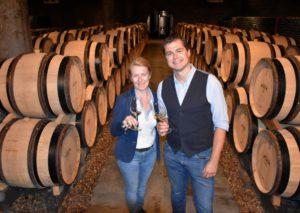 Wijnkasteel Joyce Van Rennes en Maurice Warnier