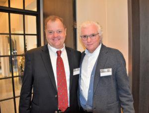 CEO Rudy Hulsman en Architect Vittorio Simoni