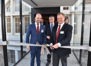 CEO Rudy Hulsman en Hotelmanager Christiaan van Kesteren