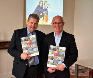 Stefaan Gheysen (alg. directeur Westtoer) en Dirk Marteel (mediacoördinatie Westtoer)