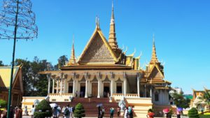 Het koninklijk paleis in Phnom Penh