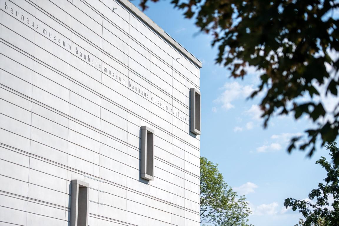 16.08.2018 Weimar: Neubau Bauhaus Museum Weimar. Foto: Thomas Müller