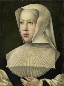 Portret van Margareta van Oostenrijk - na 1518 ©Koninklijke Musea voor Schone Kunsten van België
