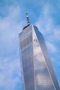 De imposante nieuwe One World Tower is de hoogste wolkenkrabber van de USA en zelfs van het westelijk halfrond.