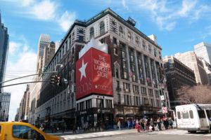 Macy's is het grootste warenhuis van de wereld.