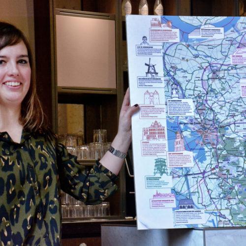 VVV-verantwoordelijke Alicia van Geel stelt Bergen op Zoom voor