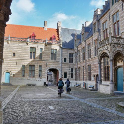 Markieznhof - inkijk op de binnenplaats