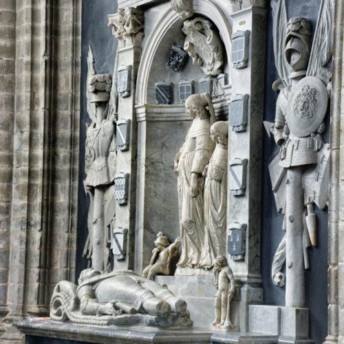 De Engelse officier Charles Morgan vocht mee aan Staatse zijde bij de verdediging van Bergen op Zoom in 1622 en die van Breda in 1625. Op aanwijzen van Frederik Hendrik (1584-1647) werd hij in 1632 benoemd tot gouverneur van Bergen op Zoom, waar hij tien jaar later overleed. Zijn enig overlevende dochter Anna liet een grafmonument plaatsen in de Sint-Gertrudiskerk.