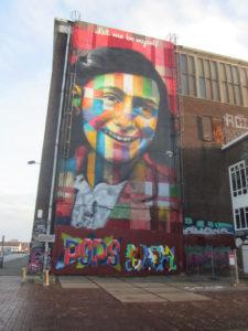 Street Art Anne Frank