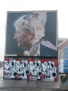 Street Art Burgemeester van der Laan