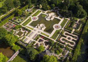 Rosarium luchtfoto