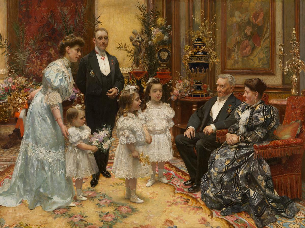 De-familie-Sjongers---1907--Piet-Van-Der-Ouderaa