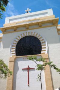 De rooms-katholieke kathedraal