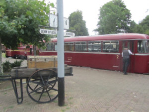 De dieseltrein of railbus