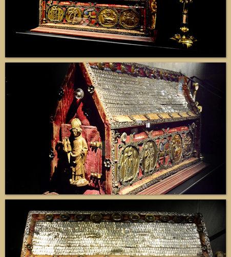 reliekschrijn Martelaren van Trier 13de -15de en 17de eeuw