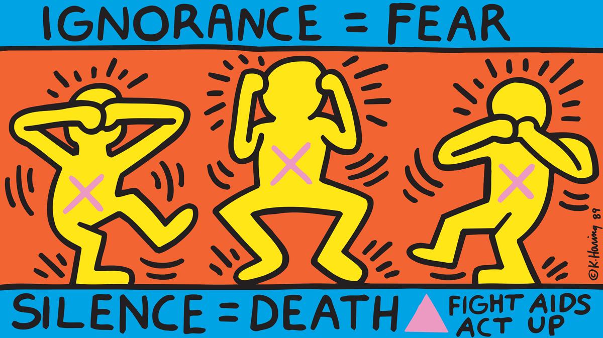 © Keith Haring Foundation / Collection Noirmontartproduction, Paris