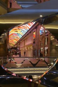 Atrium met gallery led-koepel