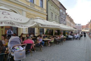 Gezellige terrasjes in Brasov