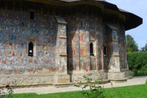 Moldovita-klooster met fresco's
