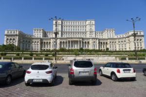 Paleis van het Volk, nu Parlement in Boekarest