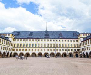 Friedenstein-kasteel in Gotha