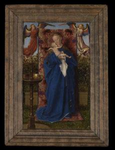 Jan van Eyck (Maaseik?, ca. 1390 - Brugge, 1441) Madonna bij de fontein, 1439 Olieverf op paneel, 19 x 12 cm Koninklijk Museum voor Schone Kunsten, Antwerpen © www.lukasweb.be - Art in Flanders vzw. Foto Hugo Maertens
