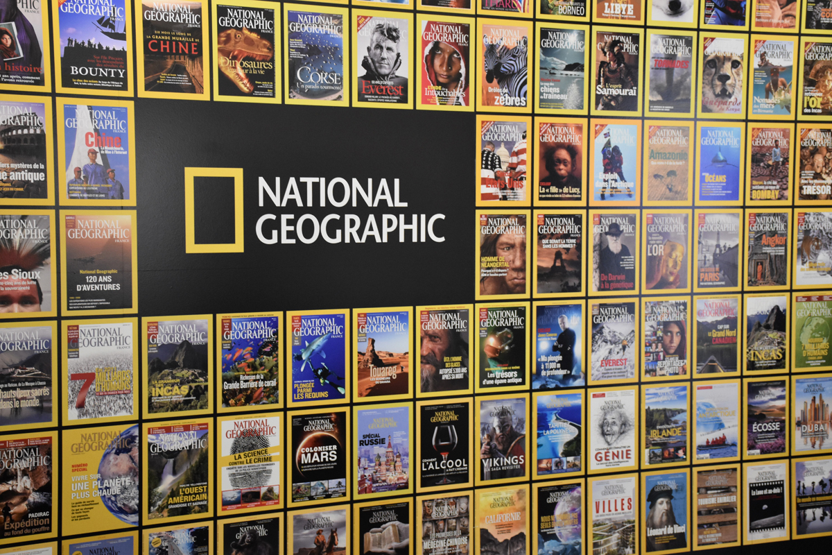 National Geographic Wall
