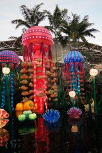 Het schitterende jaarlijkse Chinees lichtfestival Luminosa