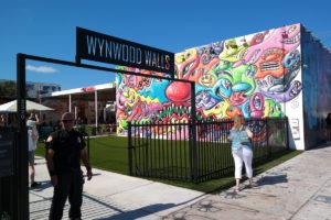 De Wynwood Walls, de wereldberoemde street art in de wijk Wynwood